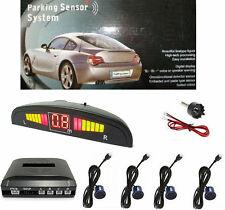 Kit completo parcheggio con 4 sensori + punta per fori foratura.Retromarcia auto