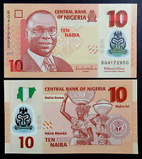 NIGERIA. Billete Polimero 10 Naira (2013)  S/C - NIGERIA UNC Polymer Banknote