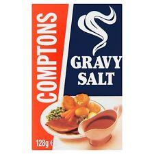 COMPTONS GRAVY SALT 3 x 128g BOXES MAKES REALLY TASTY GRAVY