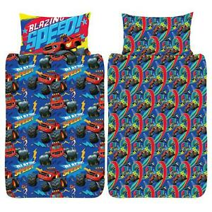 Blaze And The Monster Machines Toddler Duvet Cover Set Junior Cot Bedding