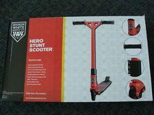 NEW Shaun White Hero Stunt Scooter Red Supply Co High Impact Deck Trick Pro NIB
