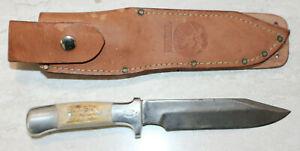 "Handmade R.H. Ruana BONNER MONTANA M 25 AC ""Custom Workman"" knife"