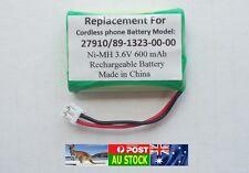 Generic Replacement 3.6V Battery for TELSTRA V580A V580Q 27910 CTB69 BT-C250 AU