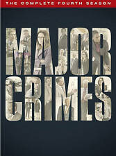 Major Crimes: The Complete Fourth Season 4 (DVD, 2016, 4-Disc Set) NEW