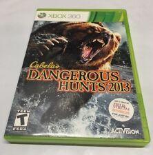 Cabela's Dangerous Hunts 2013 Microsoft Xbox 360 item number Z2386