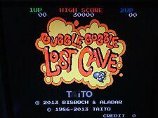 Bubble Bobble Lost Cave NO JAMMA ARCADE PCB GAME WITH EXTRA JAMMA CONVERTER