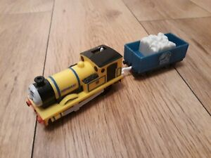 Thomas Trackmaster Rheneas Train with truck and cargo, RARE, battery operated