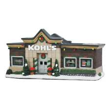 St Nicholas Square Christmas Village Kohls Dept. Store Illuminated New In Box