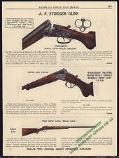 1940 A.F. STOEGER Triumph 275, 240E Paragon, Trap Shotgun AD