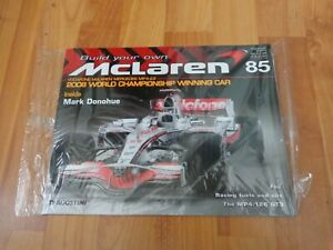 ISSUE 85 DEAGOSTINI 1/8 BUILD YOUR OWN MCLAREN MP4/23 LEWIS HAMILTON 2008 F1 CAR