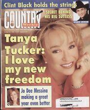 Country Weekly Magazine October 20, 1998 Tanya Tucker, Jo Messina, Clint Black