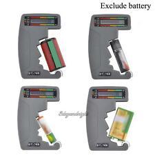 BT-768 Digital LCD Battery Tester Volt Checker Cell AA AAA C D 9V 1.5V Universal