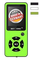 BERTRONIC Made in Germany BC03 8 GB MP3-Player - Grün - 100 Stunden
