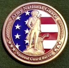 """Awesome 1.5"""" US Army ANG Challenge Coin Director Michael Collins Award BZ"""