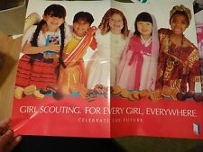 Girl Scouts 2002 Cookies Poster For Every Girl Everywhere Celebrating Future Dbl