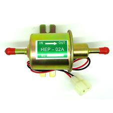 New Electric Fuel Pump For Motorcycle Low Pressure 12V Carburetor FP-02 ATV