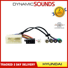 CT20HY07 Wiring Harness Adaptor ISO Loom Lead for Hyundai Santa Fe 2006-2009