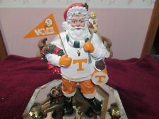 Vintage Figurine Santa Clause And Smokey By The Danbury Mint Mint  Condition