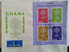 Stamps ghana. FDC. 1962