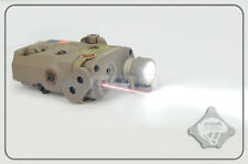 FMA PEQ15 LA5 LED light + Red laser with IR Functional Aimming Device - FDE