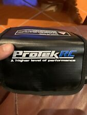 "ProTek RC ""Flak Jacket"" Flame Resistant LiPo Polymer Charging Bag (16x6.5x7cm)"