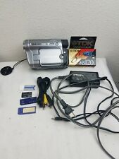 SONY DCR TRV480 HI8 DIGITAL VIDEO CAMCORDER. POWER SUPPLY, NEW TAPE,  WORKING