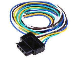 Vehicles Trailer Light Wiring Harness Extension Wire Connector 5 Pin Adapter 36""