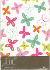 Butterfly Wrapping Paper 2 sheets & 2 Tags Collage Essentials By UK Greetings