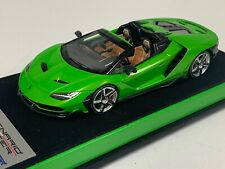 1/43 Looksmart Lamborghini Centenario Roadster Green Verde Mantis Custom Base