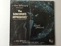 WALT DISNEY Peter And The Wolf-The Sorcerer's Apprentice HOLLOWAY LP+bonus CD