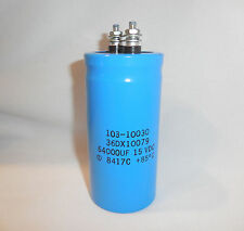64000MFD 36DX10079 Electrolytic Capacitor 15VDC  MFR Unmarked
