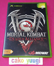 MORTAL KOMBAT DEADLY ALLIANCE TRES BON ETAT VERSION 100% FRANCAISE
