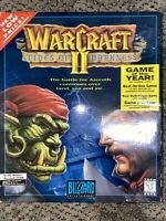 New Warcraft 2 Tides Of Darkness Bog Box PC Brand New Sealed 1995 CD-ROM