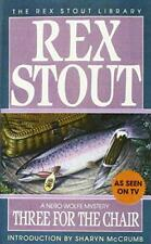 Three for the Chair (Crime Line) by Stout, Rex   Mass Market Paperback Book   97