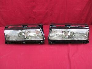 NOS OEM Pontiac Grand Prix Headlamp Light 1988 - 1989 PAIR