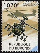 BOEING AH-64 APACHE Military / Army Attack Helicopter Aircraft Stamp