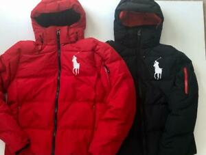 Polo Ralph Lauren TYROL Big Pony Hooded Down Puffer Jacket SM MED LRG XL XXL NWT