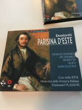 Parisina d'este (2000) CD Emmanuel Plasson 116