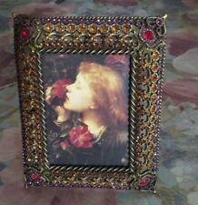 Jay Strongwater Patricia Sparkly Swarovski Crystals Jeweled Picture Frame