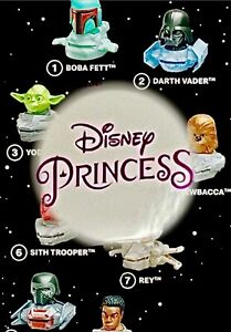 2021 DISNEY PRINCESSES/STAR WARS (17)McDonald's Happy Meal Toy SHIPS IMMED