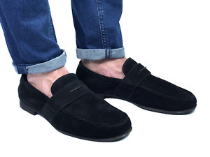 GUCCI men's black suede loafers | Size 9.5/US 10.5 (28,8 cm/11,3 in)