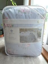 Simply Shabby Chic Misty Blue Floral Comforter (KING) Set - NEW