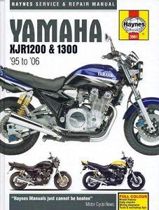 Haynes Yamaha XJR1200 / 1300 1995-2006 workshop manual #3981 *