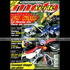 MOTO VERTE N°271 KTM 400 LC4 SC 360 EXC 250 SX YAMAHA YZ HONDA CR DEMARIA 1996