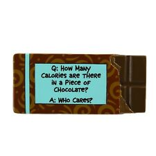 Our Name is Mud ONM4020706 Calories Chocolate Fridge Magnet