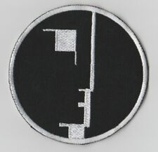 Bauhaus embroidered patch rock post punk astral threads