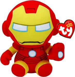 NEW Ty Plush Reg Iron Man from Mr Toys