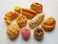SYLVANIAN FAMILIES FOOD * HANDMADE 10 PCE SWEET + SAVOURY FOOD * COMBINED P+P