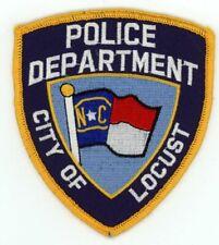 LOCUST POLICE NORTH CAROLINA NC NICE COLORFUL PATCH SHERIFF STYLE 2