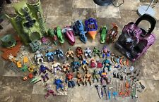 He-man MOTU action figures, accessories, Castles And Vehicle Lot